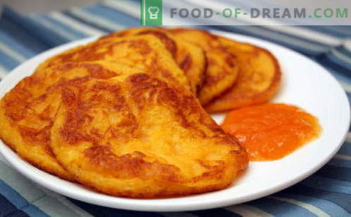 Pumpkin Fritters are the best recipes. How to properly and deliciously cook pumpkin pancakes.