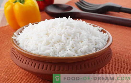 How to cook rice so that it is crumbly. Recipes from crumbly rice, the secret of cooking rice, so that it was crumbly