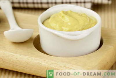 Mustard sauce - the best recipes. How to properly and tasty cook mustard sauce.