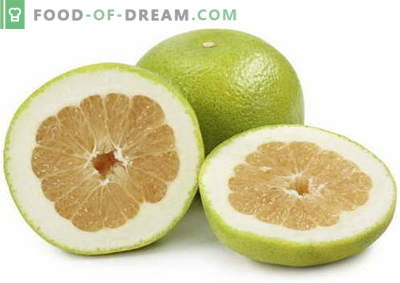 Pomelo - description, useful properties, use in cooking. Recipes with pomelo.