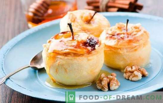 What to cook apples quickly and tasty? Quick recipes for delicious apple dishes: from desserts to baking and salads