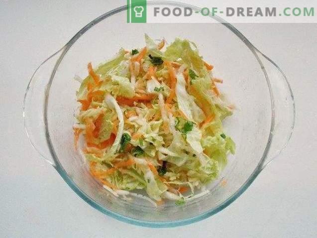 Easy Peking Cabbage Salad