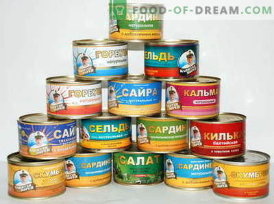 Dishes from canned fish - the best recipes. What can be cooked from canned fish.