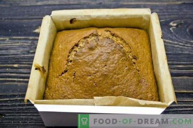 Honey Cake with Sour Milk