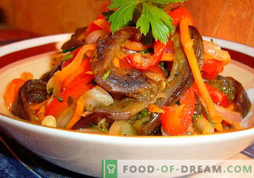 Spicy salads - a selection of the best recipes. How to properly and tasty cook spicy salads.