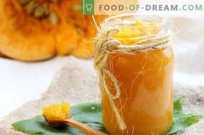 Pumpkin jam - the best recipes. How to properly and tasty cook pumpkin jam.