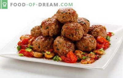 Galettes de viande pour le déjeuner, le dîner ou la table de fête. Recettes pour de délicieuses boulettes de viande de bœuf, de veau et de porc