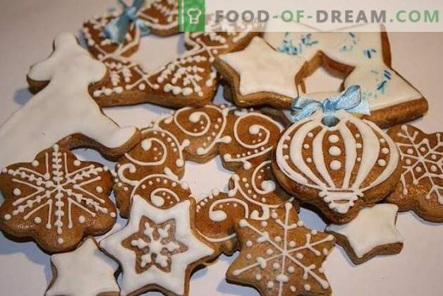Cookies for the New 2019: aromas of spices and warm wishes