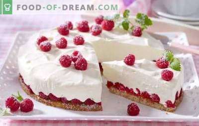 Delicate and tasty low-calorie cake - delicacy recipes for slim sweets. Variants of cream and dough for low-calorie cake