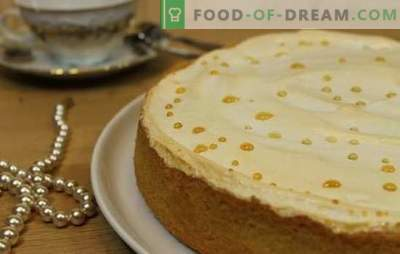 """Tears of an Angel"" - cake or tart? Secrets and options of the cake"