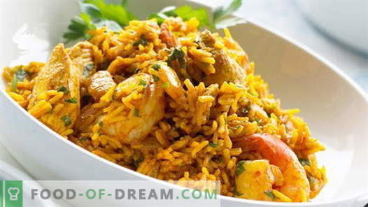 Chicken pilaf - the best recipes. How to cook pilaf from chicken.