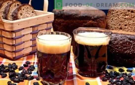 Kvass from black bread is dark, vigorous, refreshing! Recipe for kvass on black bread without yeast