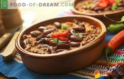 Lenten dishes with beans - a great competitor to meat delicacies. Recipes of lenten dishes with beans from around the world