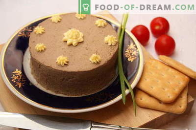 Liver pate - the best recipes. How to properly and deliciously prepare liver pate.