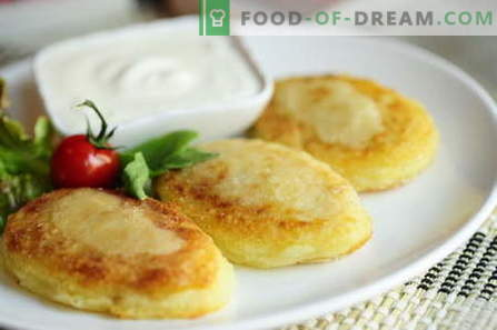 Potato zrazy - the best recipes. How to properly and tasty cooked potato zrazy.
