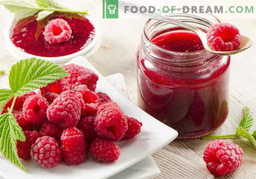 Raspberry jam: how to cook raspberry jam correctly