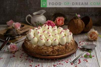 Kuchen coconut cake - heavenly delight
