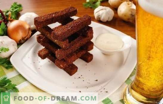Toast with garlic is an elementary dish requiring attention. Interesting recipes of toast with garlic for all occasions