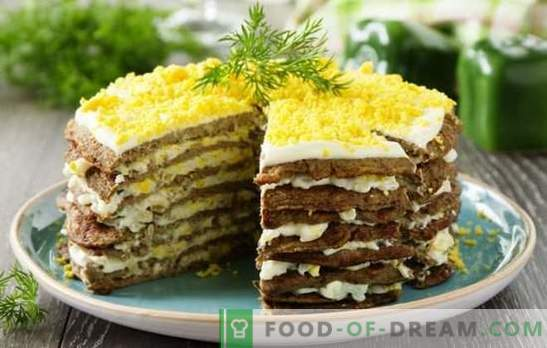 Anthology of liver cake - recipes from pork liver. Features of the preparation of liver cakes from pork liver: tasty, healthy, inexpensive