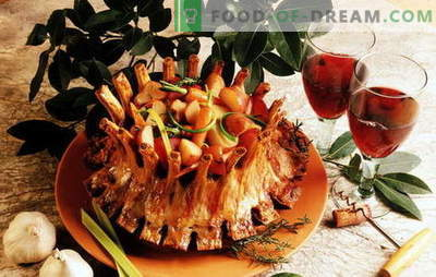 Juicy royal meat: the best recipes of a popular dish. Royal meat with potatoes, oranges, kiwi, eggplant
