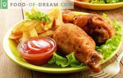 Drumsticks with potatoes - different dishes from the same products. We will cook the legs with potatoes in the oven, the slow cooker and on the stove