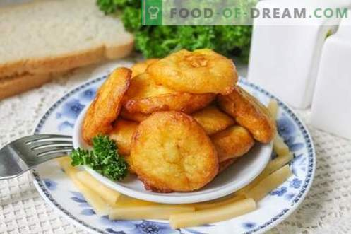 Potato croquettes - an interesting dish of ordinary potatoes