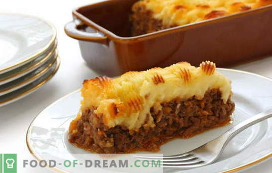 Potato casserole with meat in the oven - feed everyone! Cooking delicious and different potato casseroles with meat in the oven