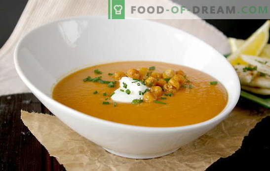 The benefits of a delicious homemade lentil soup. Lenten Lenten Soups - a selection of recipes without meat and broths