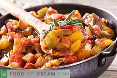 Vegetable stew with meat - the best recipes. How to properly and tasty cook vegetable stew with meat.
