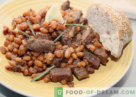 Beans with meat - the best recipes. How to properly and tasty cook beans with meat.