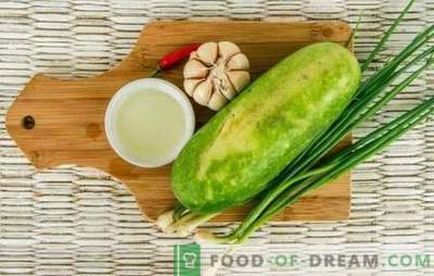Zucchini with garlic: tasty, simple, low-calorie. How to cook everyday and festive dishes of zucchini with garlic