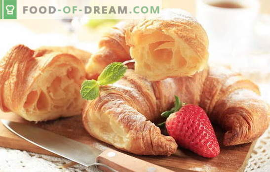 How to make french croissants? Baking is tastier at home! French homemade croissant recipes