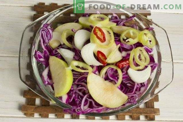 Marinated Red Cabbage