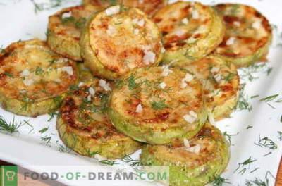 Zucchini cu usturoi - cele mai bune retete. Cum să gătești cu usturoi bine și gustos Zucchini.