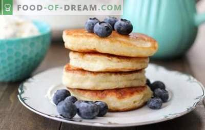 Homemade pancakes: quick breakfast recipes. Tasty pancakes according to quick recipes on kefir, milk, zucchini, liver