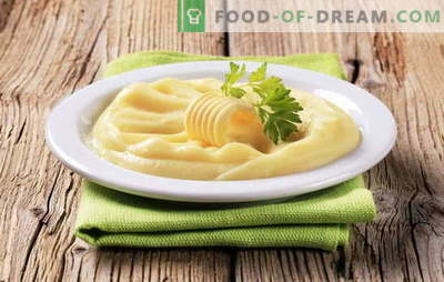 Egg puree is another way to make a popular side dish. Mashed potatoes with egg, with milk and egg, with butter and egg
