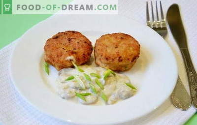 How to cook tender minced meat patties? We share recipes for tender chicken cutlets and not only ...