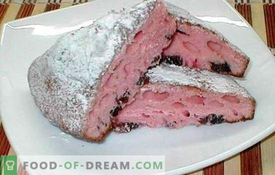 Dry kissel cake is a great idea! Recipes air, spongy, chocolate cakes from dry kissel