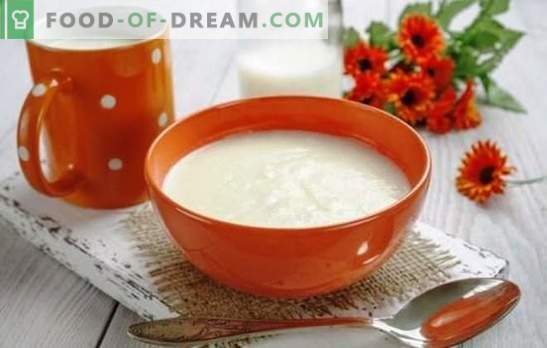 Semolina porridge on milk without lumps - perfect! The best recipes and secrets of cooking semolina in milk without lumps