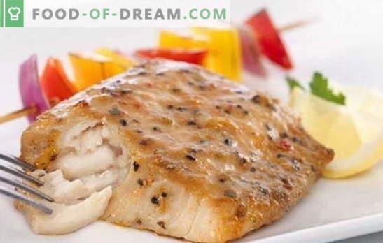 Filet de goberge au four: pas cher et bon! Recettes pour le filet de goberge juteux au four rapidement: avec des légumes, du fromage, de la crème sure, des œufs brouillés