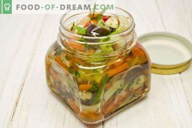 Auberginensalat für den Winter