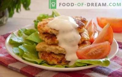 Chicken fritters with mayonnaise - faster than pies! Culinary avant-garde of the third millennium - recipe for chicken fritters with mayonnaise
