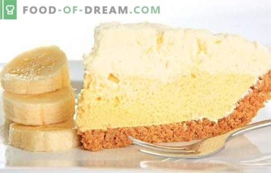 Banana cake cream is an unmatched delicacy. How to easily and quickly prepare the original banana cream cake