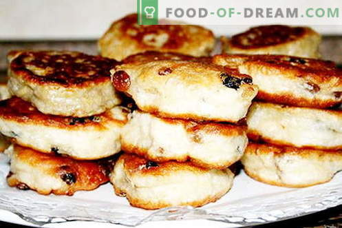 Fritters on yeast are the best recipes. How to properly and tasty cook pancakes with yeast.