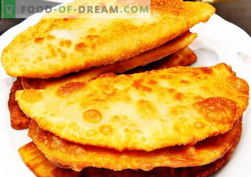 Unleavened dough - the best recipes. How to cook yeast-free dough.