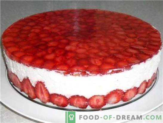 Desserts with strawberries: recipes with photos for a sweet summer. Variants of different desserts with strawberries: cakes, creams, ice cream, pastila