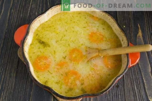 "Vegetable soup on whey ""Syrbushka"""
