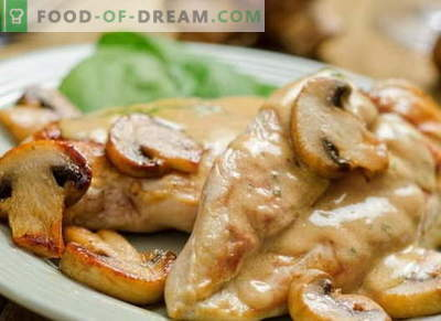 Kana hapukoores - parimad retseptid. Kuidas valmistada kana hapukoores.
