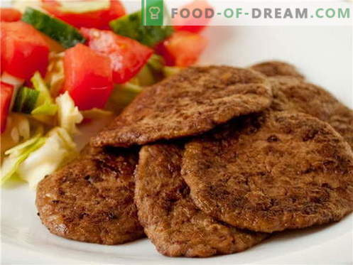 Liver patties are the best recipes. How to cook and properly Liver patties.