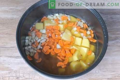 Pea soup step-by-step recipe with a photo - a budget option for the whole family